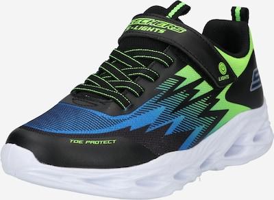 SKECHERS Sneaker 'VORTEX-FLASH ZORENT' in blau / apfel / schwarz, Produktansicht
