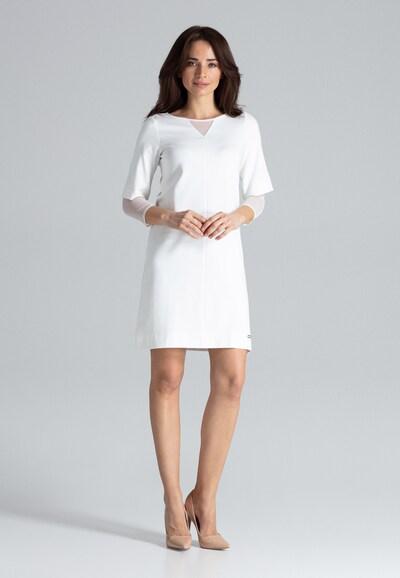 Lenitif Cocktailkleid in weiß, Modelansicht