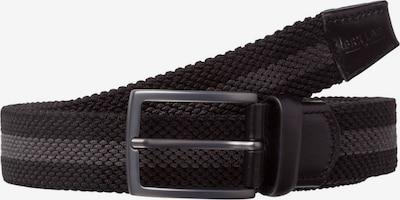 BRAX Gürtel in grau / schwarz, Produktansicht