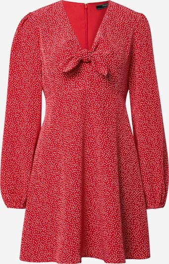 GUESS Kleid 'ALIMA' in rot / weiß, Produktansicht