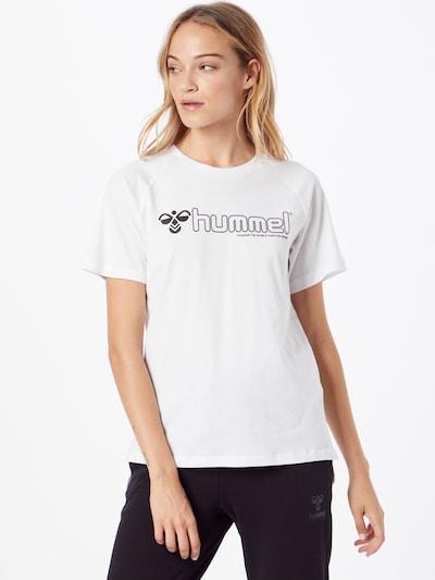 Hummel Sporta krekls 'Zenia', krāsa - melns / balts: Priekšējais skats