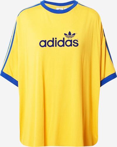 ADIDAS ORIGINALS Shirt in blau / gelb, Produktansicht