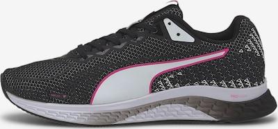 PUMA Chaussure de course en rose / noir / blanc, Vue avec produit