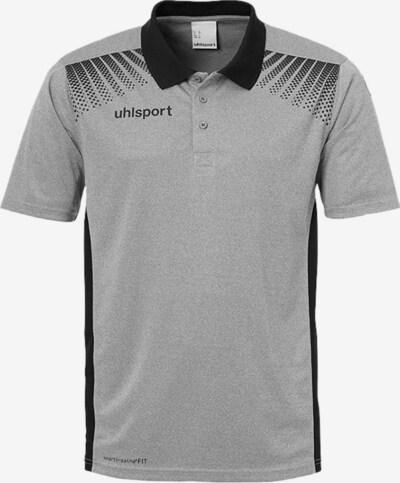 UHLSPORT Funktionsshirt in grau / schwarz, Produktansicht