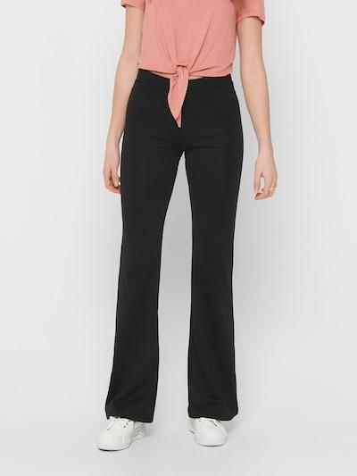 ONLY Pantalon 'ONLFEVER' en noir, Vue avec modèle