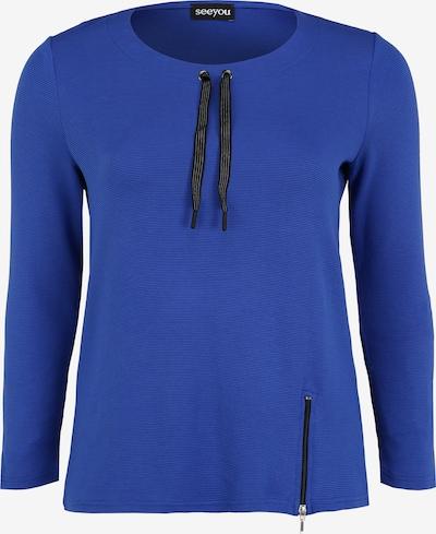 seeyou Sweatshirt in de kleur Blauw, Productweergave