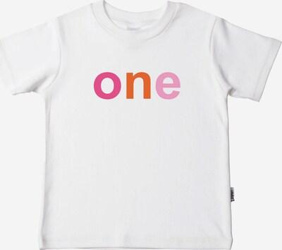 """LILIPUT T-Shirt """"Mädchen one"""" in weiß: Frontalansicht"""