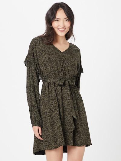 FREEMAN T. PORTER Kleid 'Lusia' in oliv / schwarz, Modelansicht