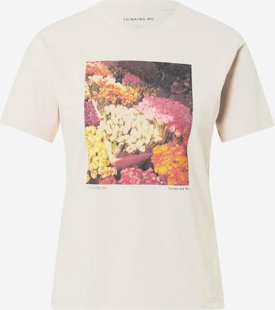 Tricou 'LAS RAMBLAS' Thinking MU pe mai multe culori / alb murdar, Vizualizare produs