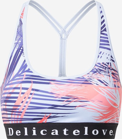 DELICATELOVE Sports bra in Dark blue / Pink / White, Item view