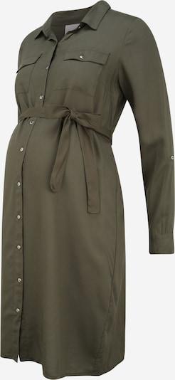 MAMALICIOUS Robe-chemise 'MERCY' en kaki, Vue avec produit