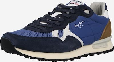Pepe Jeans Sneaker 'BRITT' in blau / dunkelblau / weiß, Produktansicht