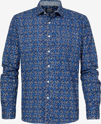 Petrol Industries Herrenhemd in blau, Produktansicht