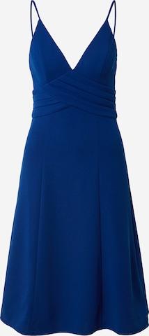 Chi Chi London Sukienka koktajlowa 'Melodie' w kolorze niebieski