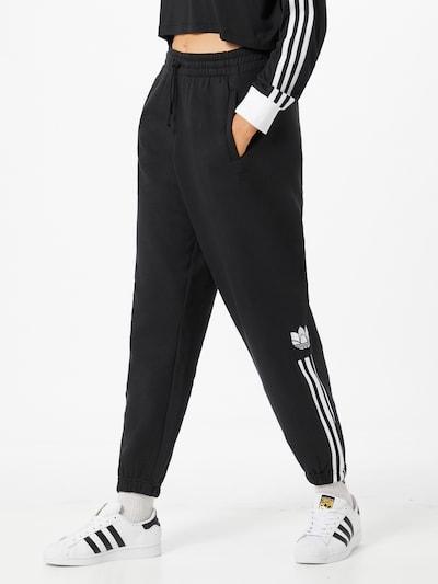 Pantaloni ADIDAS ORIGINALS di colore nero / bianco, Visualizzazione modelli