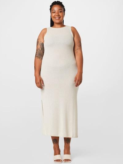 NU-IN Plus Kleid in offwhite, Modelansicht