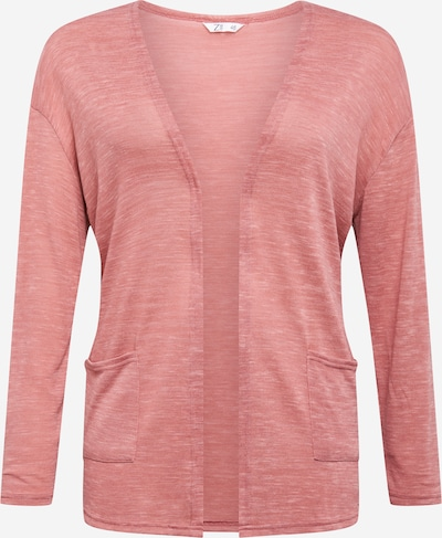 Z-One Gebreid vest 'Kathy' in de kleur Rosé, Productweergave