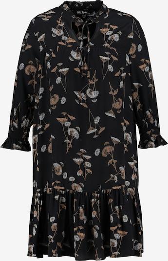 Ulla Popken Kleid in de kleur Beige / Lichtbeige / Zwart, Productweergave