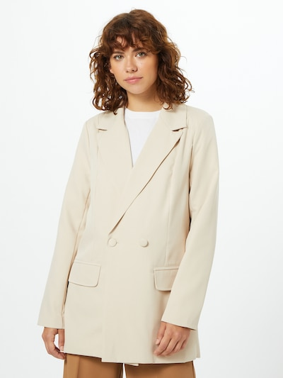 Missguided Blazer in creme, Modelansicht
