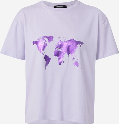 Trendyol T-Shirt in lila / lavendel, Produktansicht
