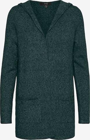 VERO MODA Knit Cardigan 'Doffy' in Green