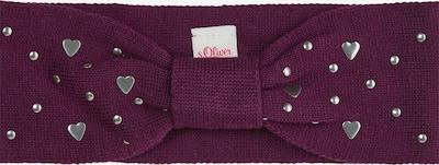 s.Oliver Stirnband in lila / mischfarben, Produktansicht