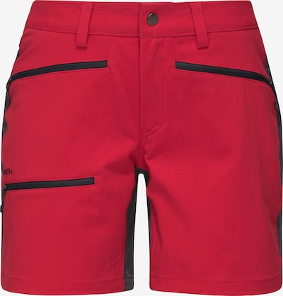 Haglöfs Outdoorhose 'Rugged Flex' in grau / rot / schwarz, Produktansicht