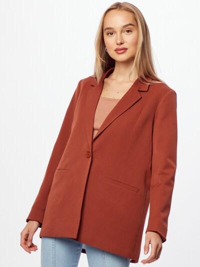 minimum Blazer 'Tara' in rostrot, Modelansicht
