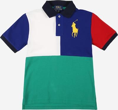Tricou Polo Ralph Lauren pe albastru / bleumarin / verde jad / roșu / alb, Vizualizare produs
