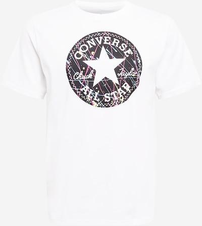 CONVERSE T-Shirt in hellblau / dunkelblau / pink / weiß, Produktansicht