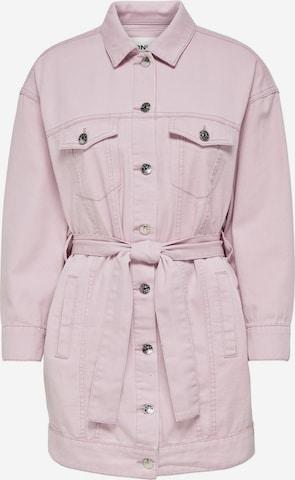 ONLY Between-Season Jacket in Pink