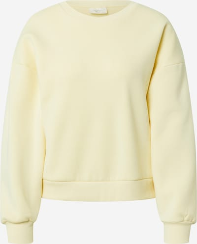 Gina Tricot Sweatshirt in Pastel yellow, Item view