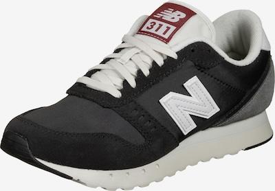 new balance Sneaker in grau / basaltgrau / merlot / weiß, Produktansicht