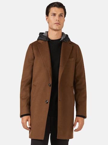 Manteau mi-saison Boggi Milano en marron