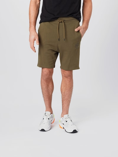 JACK & JONES Shorts in oliv, Modelansicht