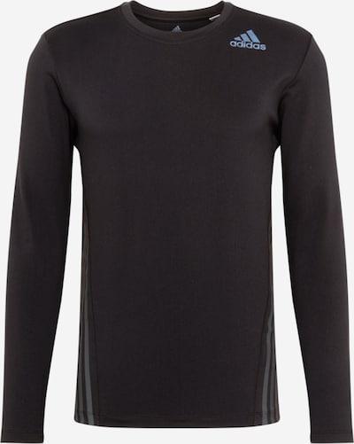 ADIDAS PERFORMANCE Funktionsshirt in hellblau / schwarz, Produktansicht