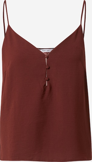 ABOUT YOU Top 'Jella' in Dark red, Item view