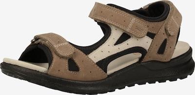 Legero Sandale 'Siris' in beige / taupe / schwarz, Produktansicht