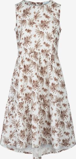 mint & mia Kleid in braun / weiß, Produktansicht