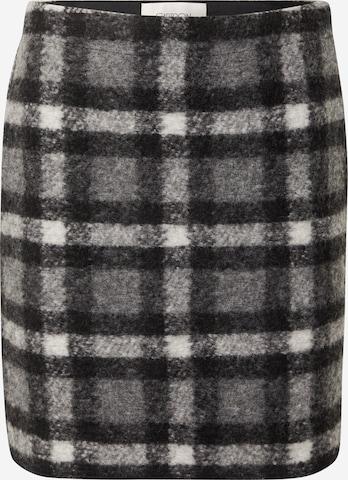 Cartoon Skirt in Grey