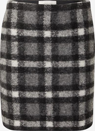 Cartoon Skirt in mottled grey / Black / White, Item view
