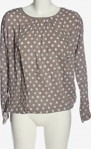 Cassis Langarm-Bluse in M in Braun