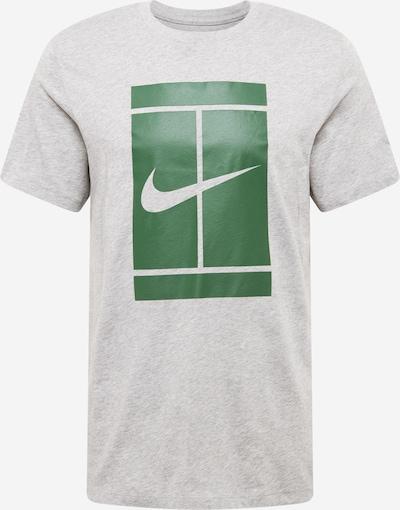 NIKE Functioneel shirt in de kleur Grijs gemêleerd / Groen, Productweergave