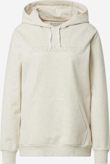 MAMMUT Sportsweatshirt in naturweiß, Produktansicht