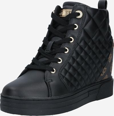 GUESS Sneaker 'Fayne' in braun / schwarz, Produktansicht