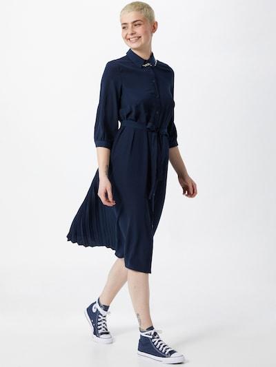 VERO MODA Рокля тип риза в нейви синьо, Преглед на модела