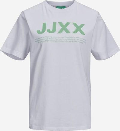 JJXX T-Shirt 'JXAnna' in grün / weiß, Produktansicht