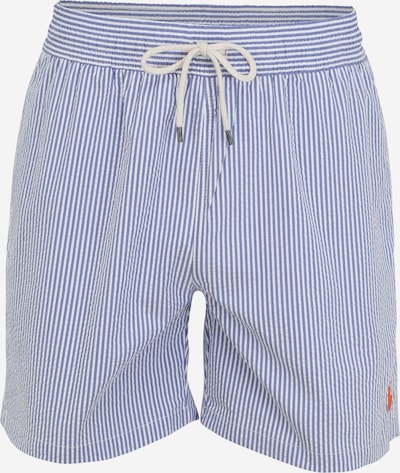 POLO RALPH LAUREN Plavecké šortky 'TRAVELER' - modrá / bílá, Produkt