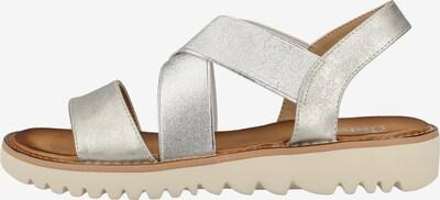 RIEKER Sandalen met riem in de kleur Zilver, Productweergave