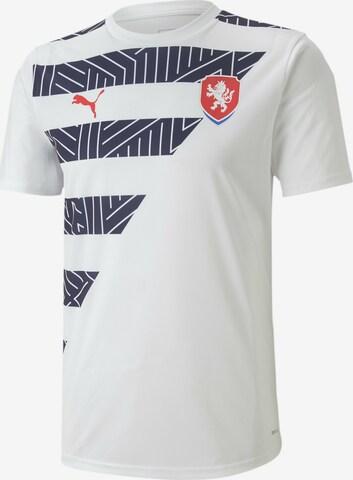 PUMA Jersey 'Tschechien' in White